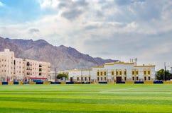 Campo de futebol local Imagem de Stock Royalty Free