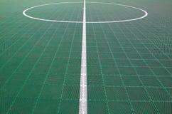 Campo de Futsal Fotos de archivo libres de regalías