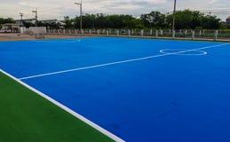Campo de Futsal Imagem de Stock
