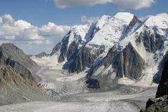 Campo de gelo. Altai. Fotos de Stock Royalty Free