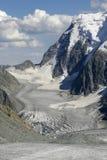 Campo de gelo. Altai. Imagem de Stock
