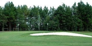 Campo de golf Imágenes de archivo libres de regalías