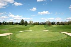 Campo de golf Fotos de archivo