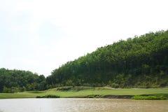 Campo de golf. Fotos de archivo
