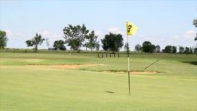 Campo de golf almacen de video