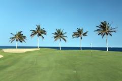 Campo de golf de Hawaii Imágenes de archivo libres de regalías