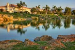 Campo de golf de la firma del jugador de Gary Imagenes de archivo