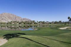 Campo de golf del oeste de Pga, Palm Springs, California Foto de archivo libre de regalías