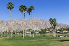 Campo de golf del oeste de Pga, Palm Springs, California Fotografía de archivo libre de regalías