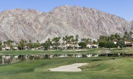 Campo de golf del oeste de Pga, Palm Springs, California Imagenes de archivo