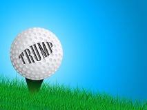Campo de golf del triunfo o torneo u ocio - 2.o ejemplo del profesional de club libre illustration