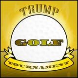Campo de golf del triunfo o torneo u ocio - 2.o ejemplo del profesional de club ilustración del vector