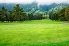 Campo de golf en Bali Imágenes de archivo libres de regalías