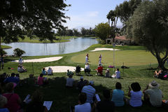Campo de golf en el torneo 2015 del golf de la inspiración de la ANECDOTARIO Foto de archivo libre de regalías