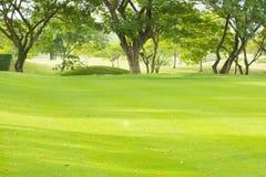 Campo de golf en Tailandia Imagen de archivo libre de regalías