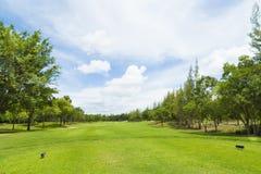 Campo de golf en Tailandia Foto de archivo