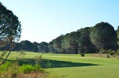 Campo de golf hermoso Imagen de archivo