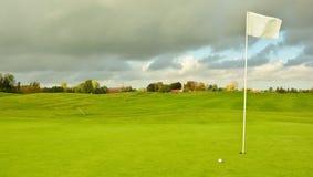 Campo de golf holandés Foto de archivo libre de regalías