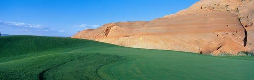 Campo de golf municipal de la paginación Imágenes de archivo libres de regalías