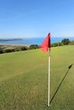 Campo de golf sobre woolacombe Foto de archivo