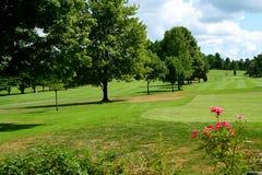 Campo de golfe 4 Foto de Stock Royalty Free