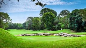 Campo de golfe Foto de Stock Royalty Free