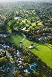 Campo de golfe, Austrália. foto de stock royalty free