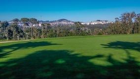 Campo de golfe cênico de Califórnia Fotos de Stock Royalty Free