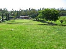 Campo de golfe de Claremont, Claremont, Califórnia EUA fotografia de stock royalty free
