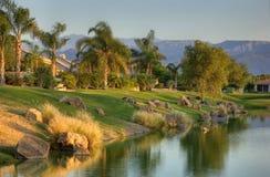 Campo de golfe da assinatura do jogador de Gary Fotos de Stock Royalty Free