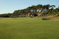 Campo de golfe da ligação Fotos de Stock