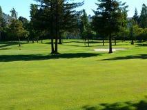 Campo de golfe da vizinhança Imagens de Stock