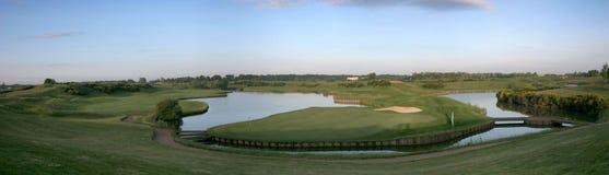 Campo de golfe de Albatros, france Imagem de Stock