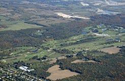 Campo de golfe de Caledon Fotos de Stock Royalty Free