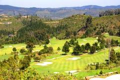 Campo de golfe de Knysna Imagem de Stock Royalty Free