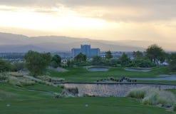 Campo de golfe do jogador de Gary Imagem de Stock Royalty Free