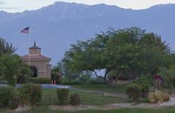 Campo de golfe do jogador de Gary Fotografia de Stock Royalty Free