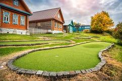Campo de golfe em Plyos Imagens de Stock Royalty Free