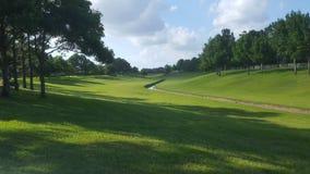 Campo de golfe Florida fotografia de stock