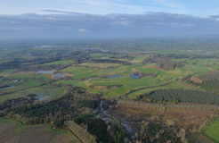 Campo de golfe irlandês Imagem de Stock