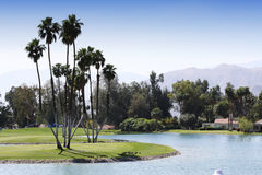 Campo de golfe no competiam 2015 do golfe da inspiração de ANA Foto de Stock
