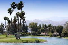 Campo de golfe no competiam 2015 do golfe da inspiração de ANA Fotos de Stock Royalty Free