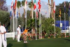 Campo de golfe no competiam 2015 do golfe da inspiração de ANA Imagens de Stock Royalty Free