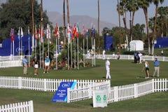 Campo de golfe no competiam 2015 do golfe da inspiração de ANA Fotos de Stock