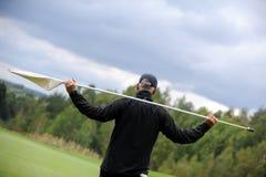 Campo de golfe - República Checa Foto de Stock Royalty Free