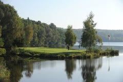 Campo de golfe - República Checa Fotos de Stock Royalty Free
