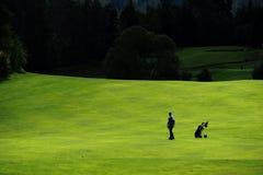 Campo de golfe - República Checa Fotografia de Stock Royalty Free