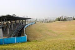 Campo de golfe sob a construção Imagem de Stock
