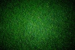 Campo de grama do futebol do futebol fotografia de stock royalty free