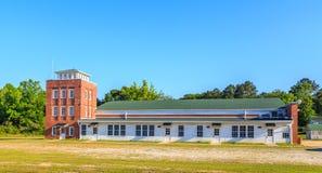 Campo de Hangar 2 Moton do aviador de Tuskegee Imagem de Stock Royalty Free